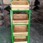 Mejores Verduleros de madera pintados